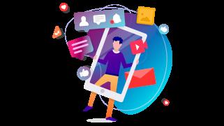 Social Media Management - Golden Digital Solutions